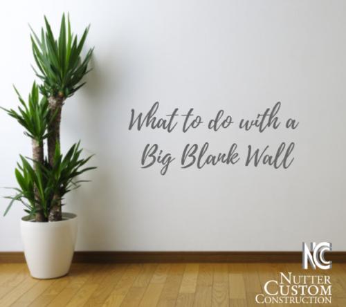 Blank Wall Idea for Sarasota Home