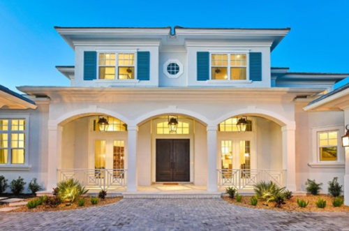 Custom Built Home In Sarasota Nutter Construction