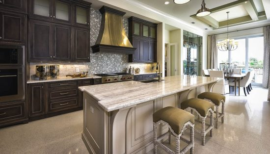 Kitchen Constructed by Nutter Custom Construction in Sarasota