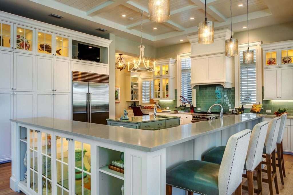 Tropical West Indies Home Kitchen